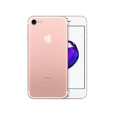 Apple iPhone 7 32gb Rose Gold - Fully Unlocked (Certified Refurbished, Good