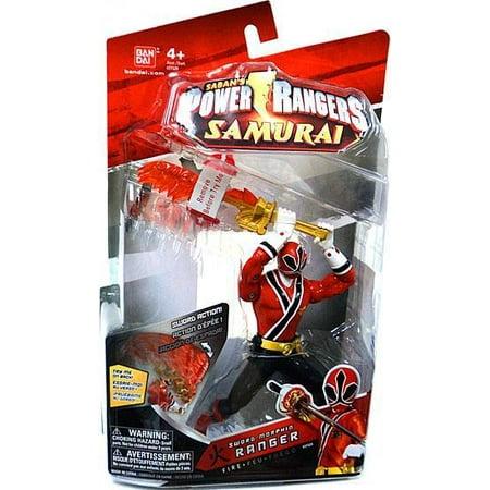 Power Rangers Samurai Sword Morphin Ranger Fire 6 1/2