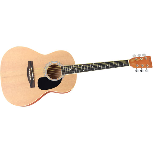 "Spectrum AIL 36K Student-Size 36"" Acoustic Guitar, Natural Matte Finish"