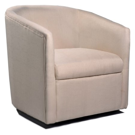 Swivel Barrel Chair - US Pride Furniture Madge Barrel Back Swivel Accent Chair