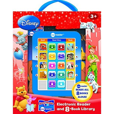 Disney Classic Me Reader Electronic Reader and 8-Book Library 3 Inch (Sonnenbrille Reader)