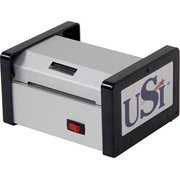 """USI HD 400 Heavy Duty Thermal Pouch Laminator, Laminates Pouches up to 4"""" Wide and 15 Mil Thick; 5-YEAR WARRANTY, Made in the USA"""