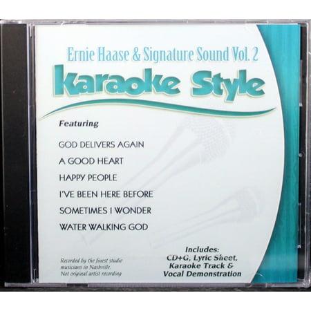 Ernie Haase and Signature Sound Volume 2 Daywind Christian Karaoke Style NEW CD+G 6 (Sound Choice Cdg)