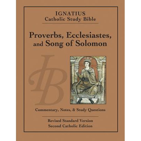 Song Of Solomon 3 (Ignatius Catholic Study Bible: Proverbs, Ecclesiastes, and Song of)