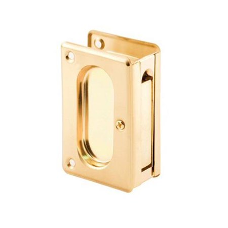 Prime Line Products 250640 Deluxe Pocket Door Passage Pull, Solid Brass - image 1 of 1