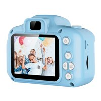 iMounTEK Kids Digital Camera w/ 2.0 Screen 12MP 1080P FHD Video Camera 4X Digital Zoom Games 32GB Card Supported Shockproof Child Camcorder for 3-10 Years Boys Girls