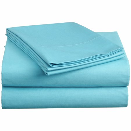 TwinXL.com Ultra-Soft Aqua Twin XL Dorm Sheet Set