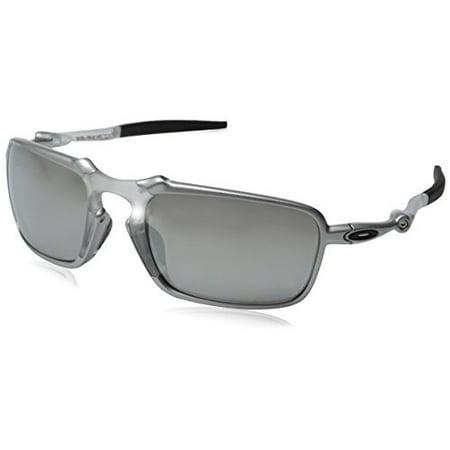 eb9461a115 UPC 888392074522. Oakley Men s Badman OO6020-05 Polarized Iridium  Rectangular Sunglasses