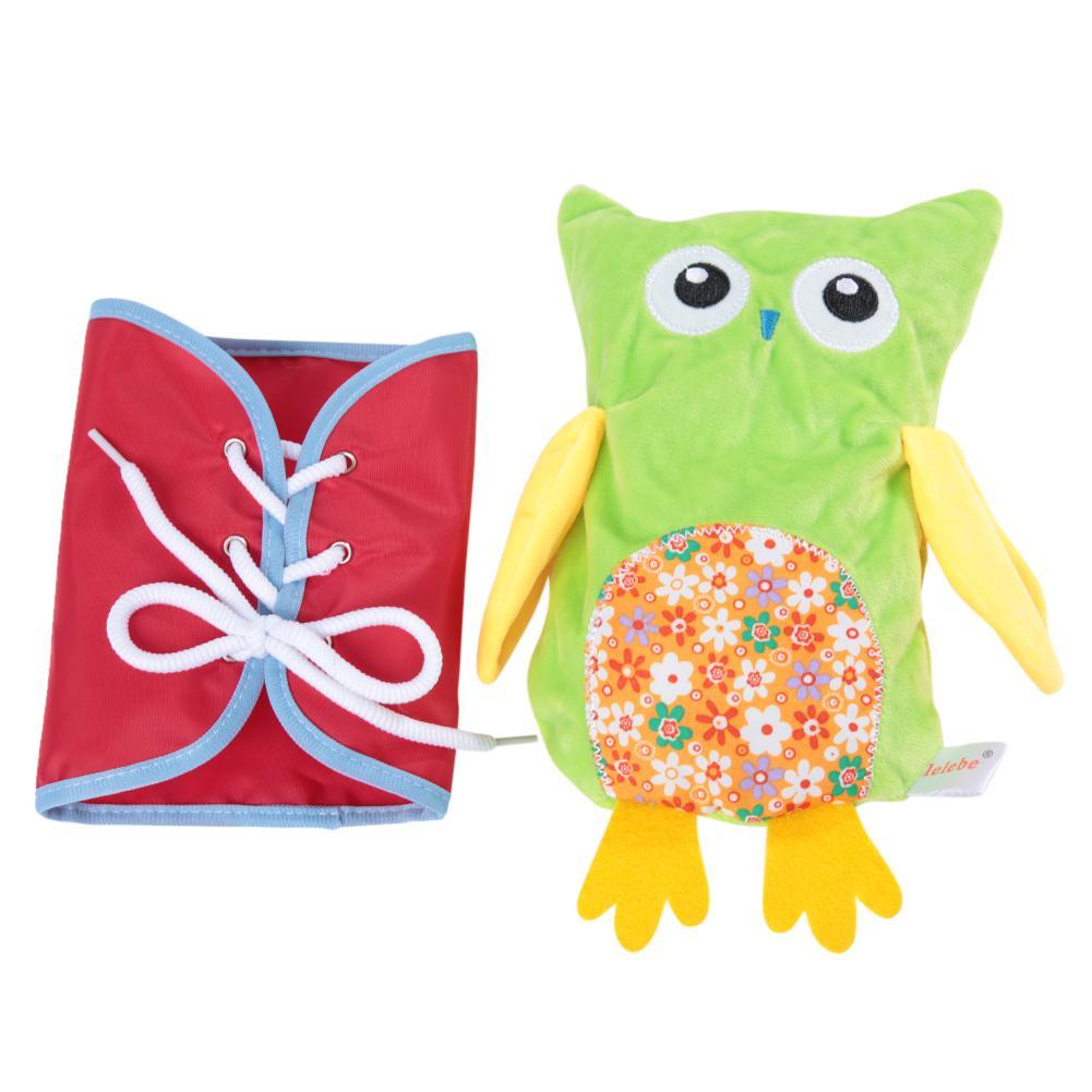 Hibou peluche habiller jouet précoce jouets éducatifs cadeau Pour bébé enfant