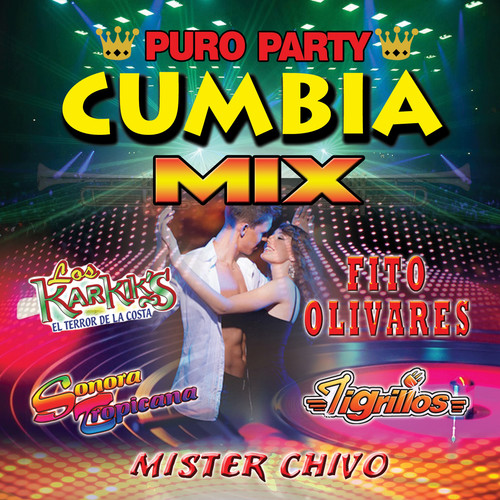 Purto Party Cumbia Mix (CD)