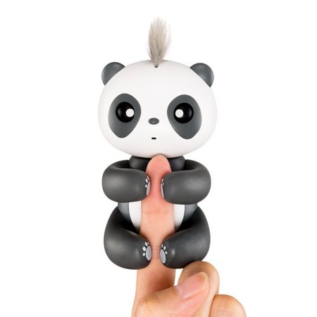 Cosyitems Fingertip Happy Panda Smart Electronic Touch Motion Interactive Panda Toys–Best Toy Gifts for Kids Children (Brown Bag Puppets Halloween)