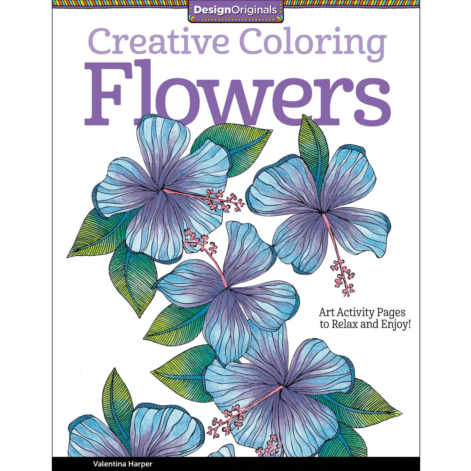 Design Originals, Creative Adult Coloring: Inspirations