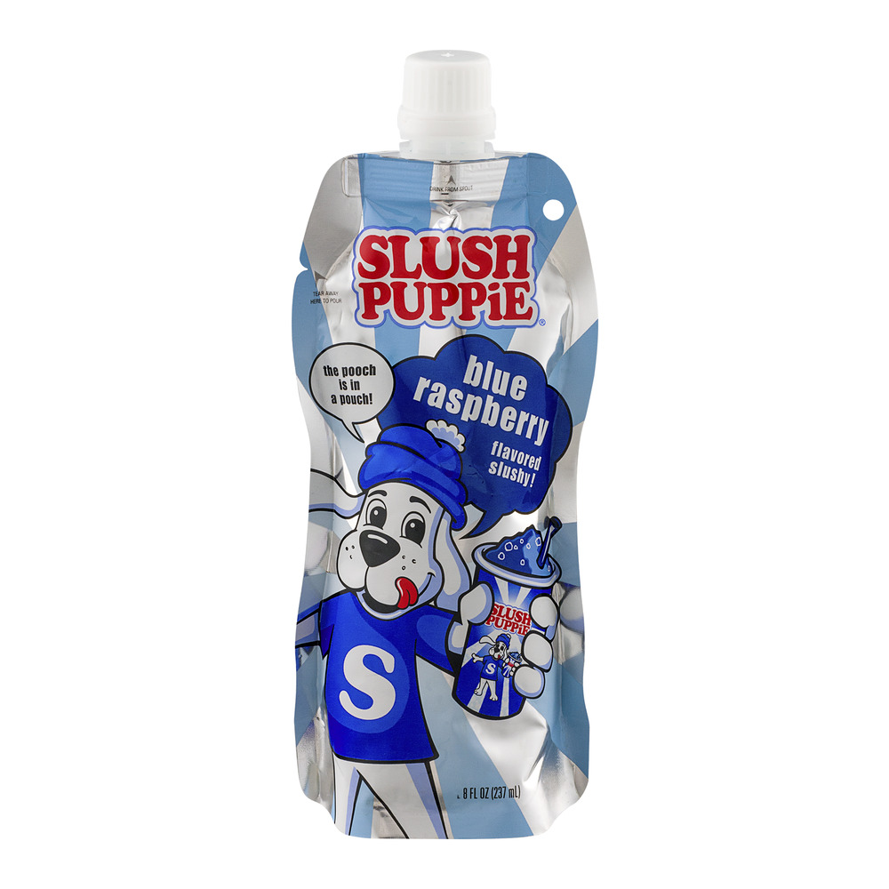Slush Puppie Blue Raspberry Slushy, 8.0 FL OZ