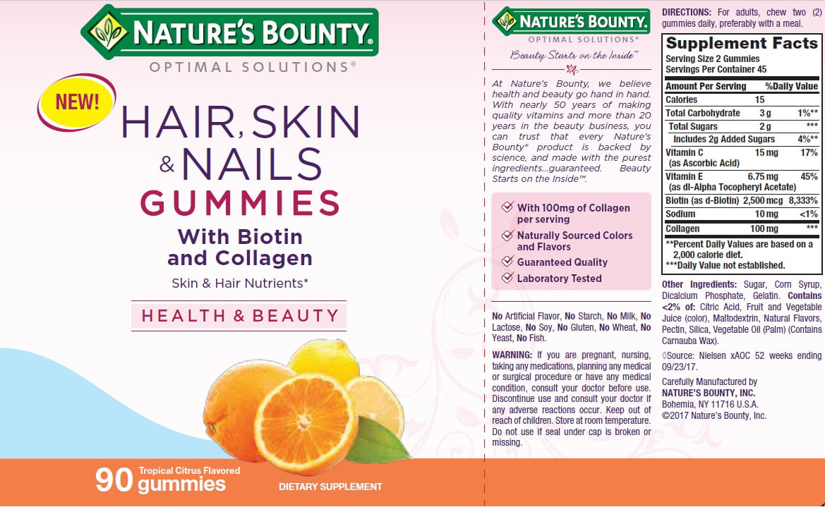 Nature S Bounty Nature S Bounty Optimal Solutions Hair