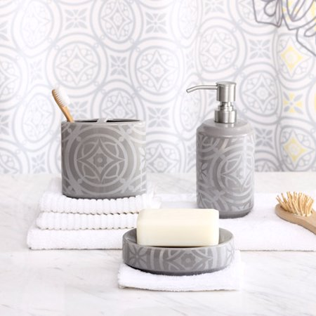 Design lab medallion 3 piece bath access for 3 piece bathroom designs