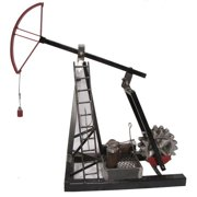 Metrotex Designs Industrial Evolution Oil Pump Jack Sculpture