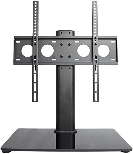"VIVO Universal Economic LCD Flat Screen TV Table Top Stand w  Glass Base for 32"" to 47"" T.V. (STAND-TV00J) by Vivo"