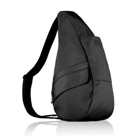Small Microfiber Healthy Back Bag - Black Small Microfiber Healthy Back Bag