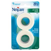 """Nexcare Durable Cloth First Aid Tape, Hypoallergenic, 1"""" x 360"""", 1/Roll"""