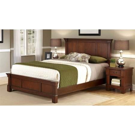 Customer Favorite 2 Pc King Bedroom Set In Cherry Accuweather Shop