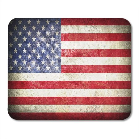 Americana Computer - KDAGR Patriotic Blue Americana Vintage American Flag Red Faded America Mousepad Mouse Pad Mouse Mat 9x10 inch