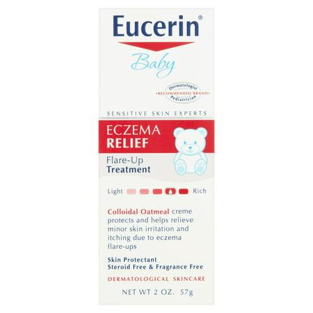 Eucerin bébé Eczéma Relief Regain traitement 2 oz