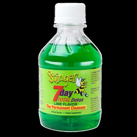 Stinger 7 day Total Detox Lime Flavor 8 oz
