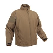 Covert Ops Light Weight Coyote Tan Soft Shell Jacket 2X-Large