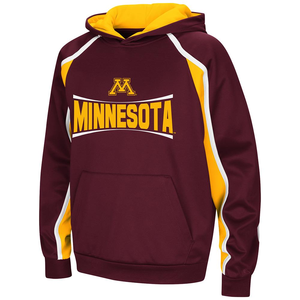 Youth Minnesota Golden Gophers Pull-over Hoodie - S