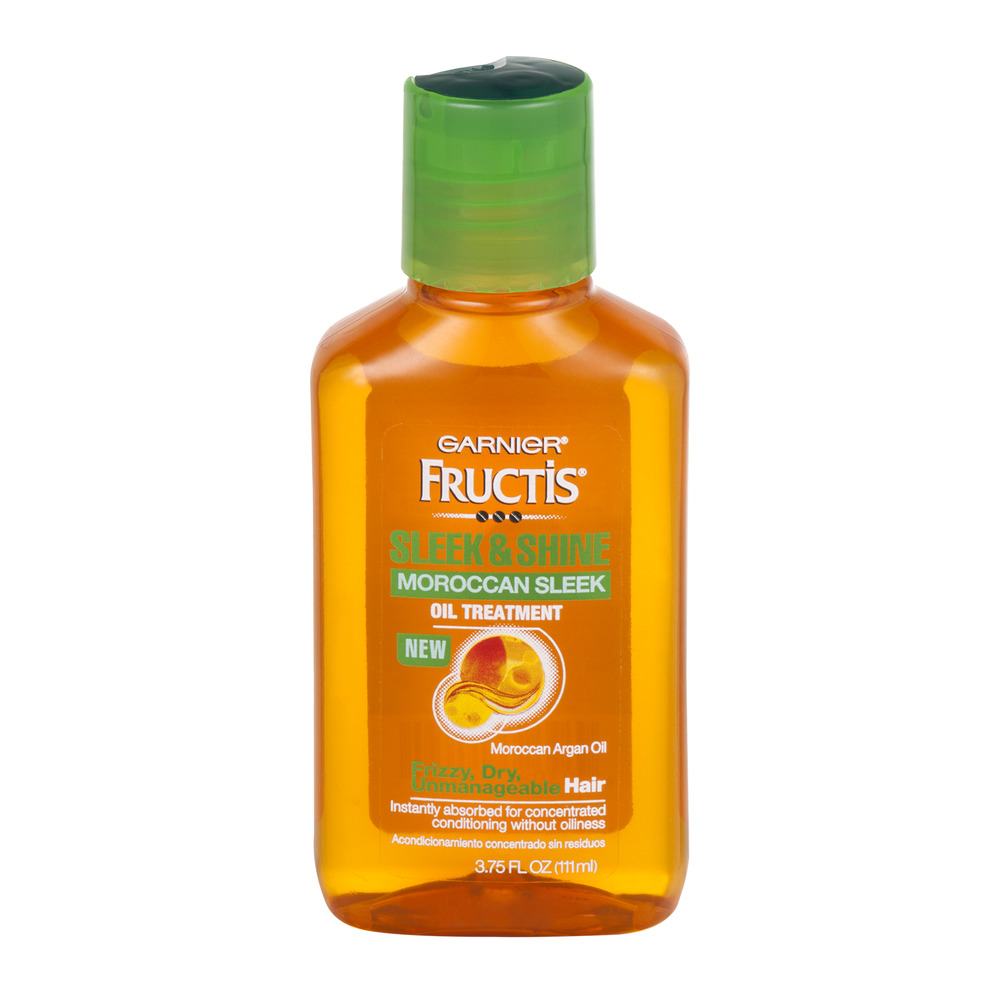 Garnier Fructis Sleek & Shine Oil Treatment Moroccan Sleek, 3.75 FL OZ