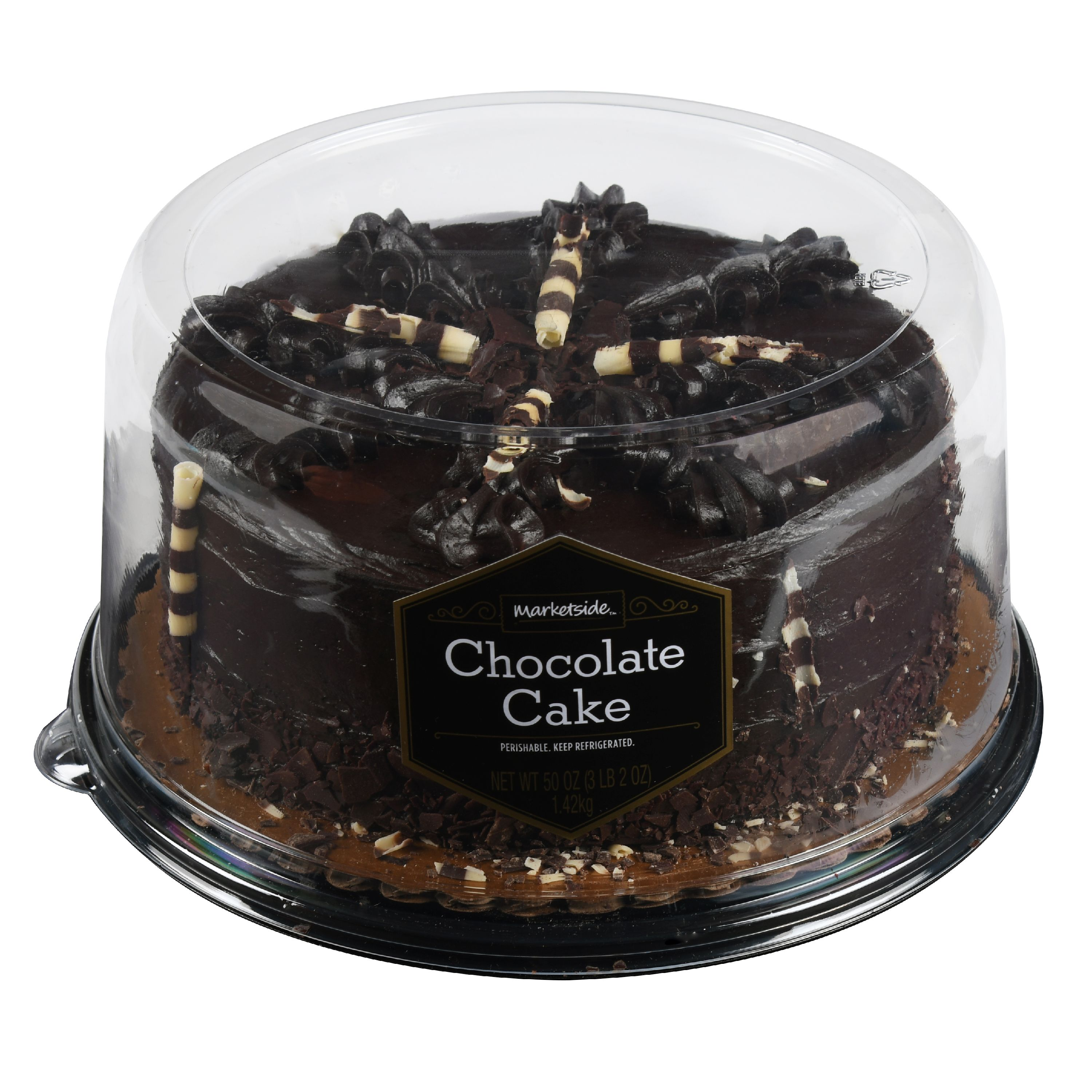 Marketside Ultimate Chocolate Ganache Cake, 50 oz