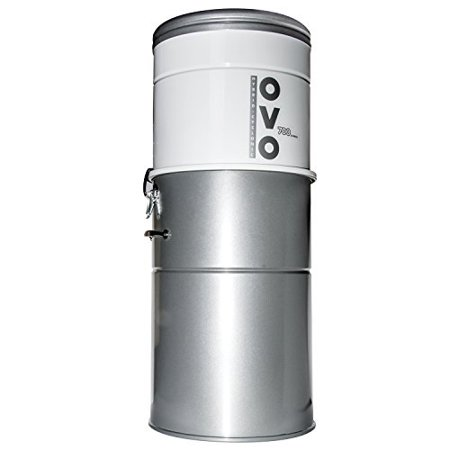 Heavy Duty Vacuum System (powerful central vacuum system - heavy duty central vac with hybrid filtration - 35l or 9.25gal - 700 airwatts power unit )