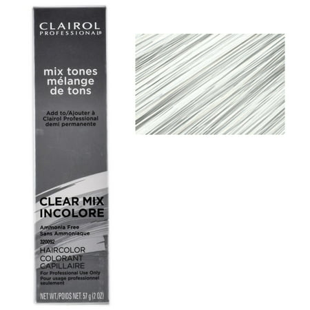 Clairol Professional Mix Tones Hair Color - Color : Clear Mix Incolore