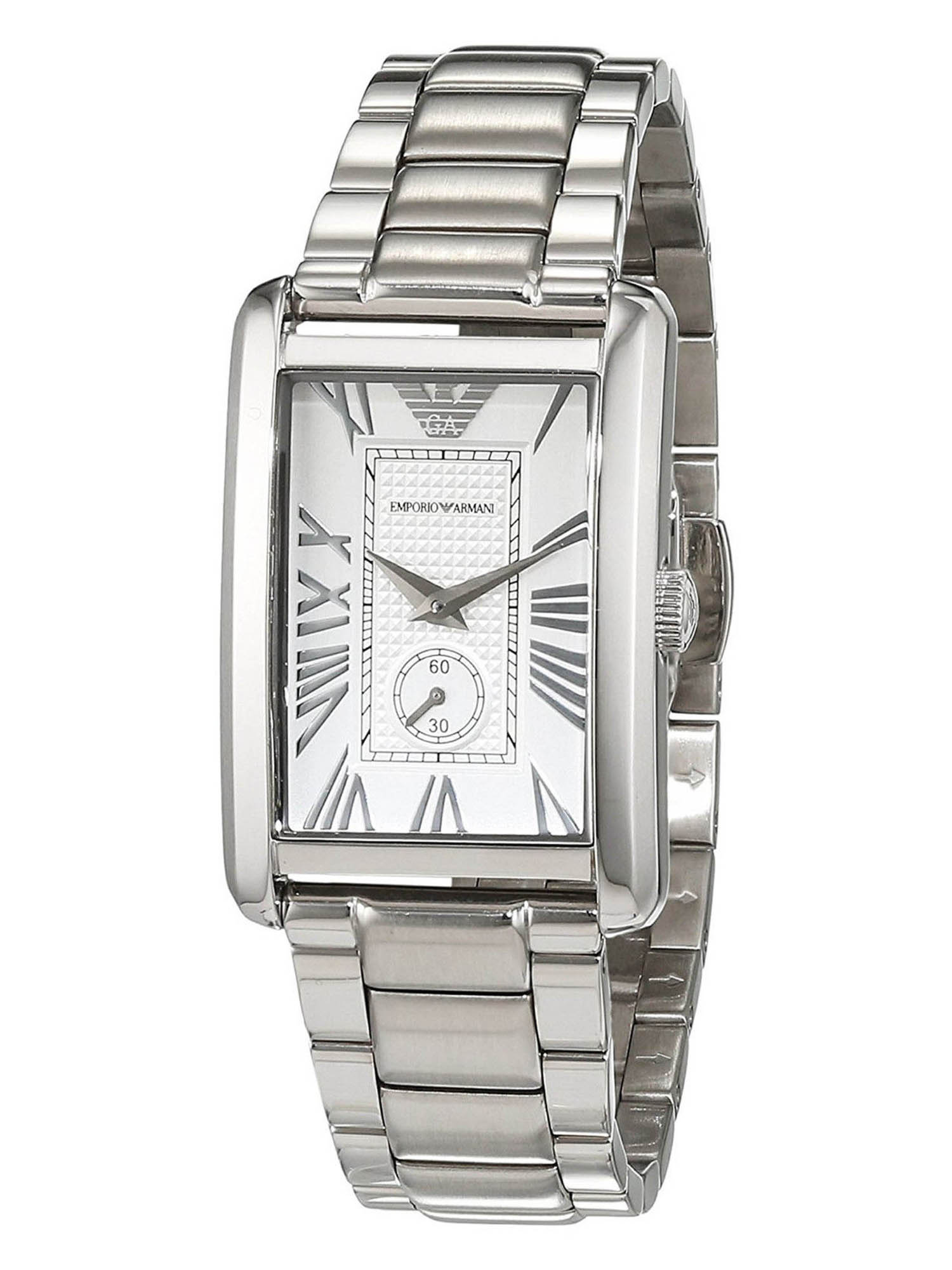 Emporio Armani AR1639 Classic Silver Dial Stainless Steel Women's Watch