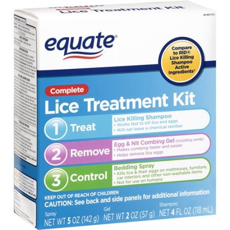 Equate Complete Lice Treatment Kit