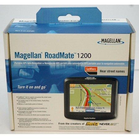 NEW Magellan RoadMate 1200 T Car Portable GPS Navigator System USA MAPS (Magellan Roadmate 700 Portable Gps)