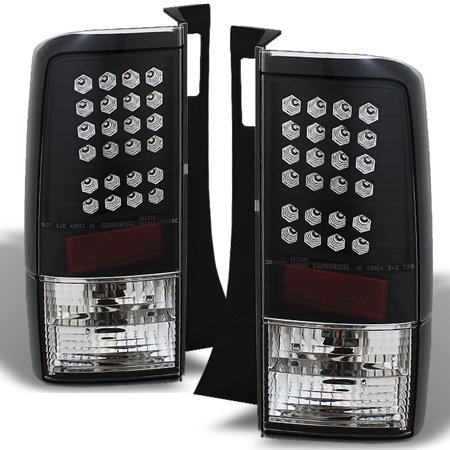 Fits 03-07 Scion Xb Bb Wagon JDM Black LED Tail Brake Lights Lamp Set - Jdm Bb