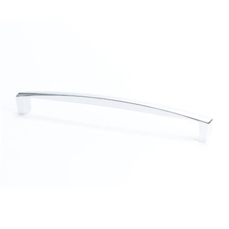 Polished Chrome Appliance (BE9239 1026 Berenson 12 in. Center Appliance Pull, Aspire Polished)
