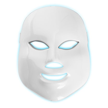 LED Face Mask Skin 7 Color Modes Rejuvenation Therapy Device Photon Light Mask Light Treatment Beauty