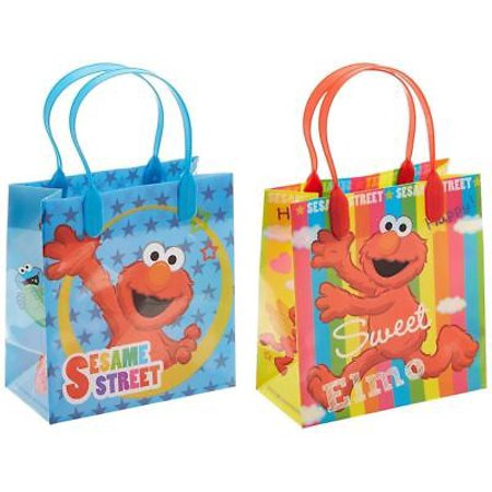 NEW 12PCS Sesame Street Elmo Licensed Goodie Party Favor Gift Birthday Loot Bags