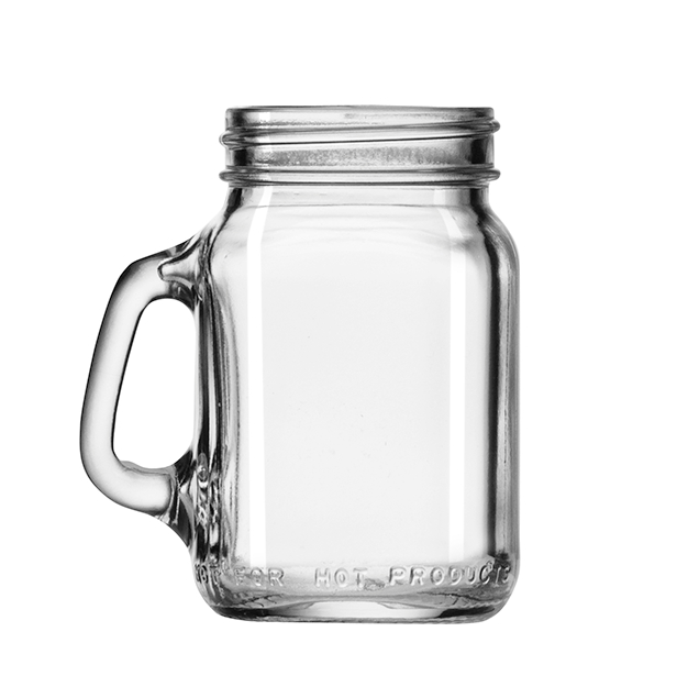 Libbey Mini Drinking Jar 12-Piece Set, Glass