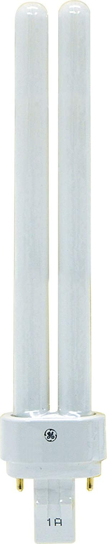 1200 Lumens T4 shape 3000K GE 97599 4-Pack 4-Pin G24q-2 Base F18DBX//830//ECO4P 18-Watt Compact Fluorescent Light Bulb