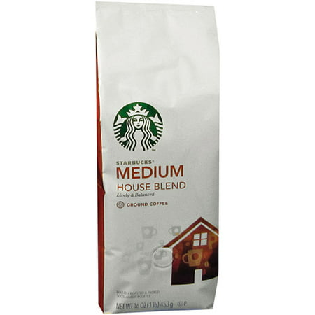 Starbucks Coffee, House Blend, Ground, 1 - Walmart.com