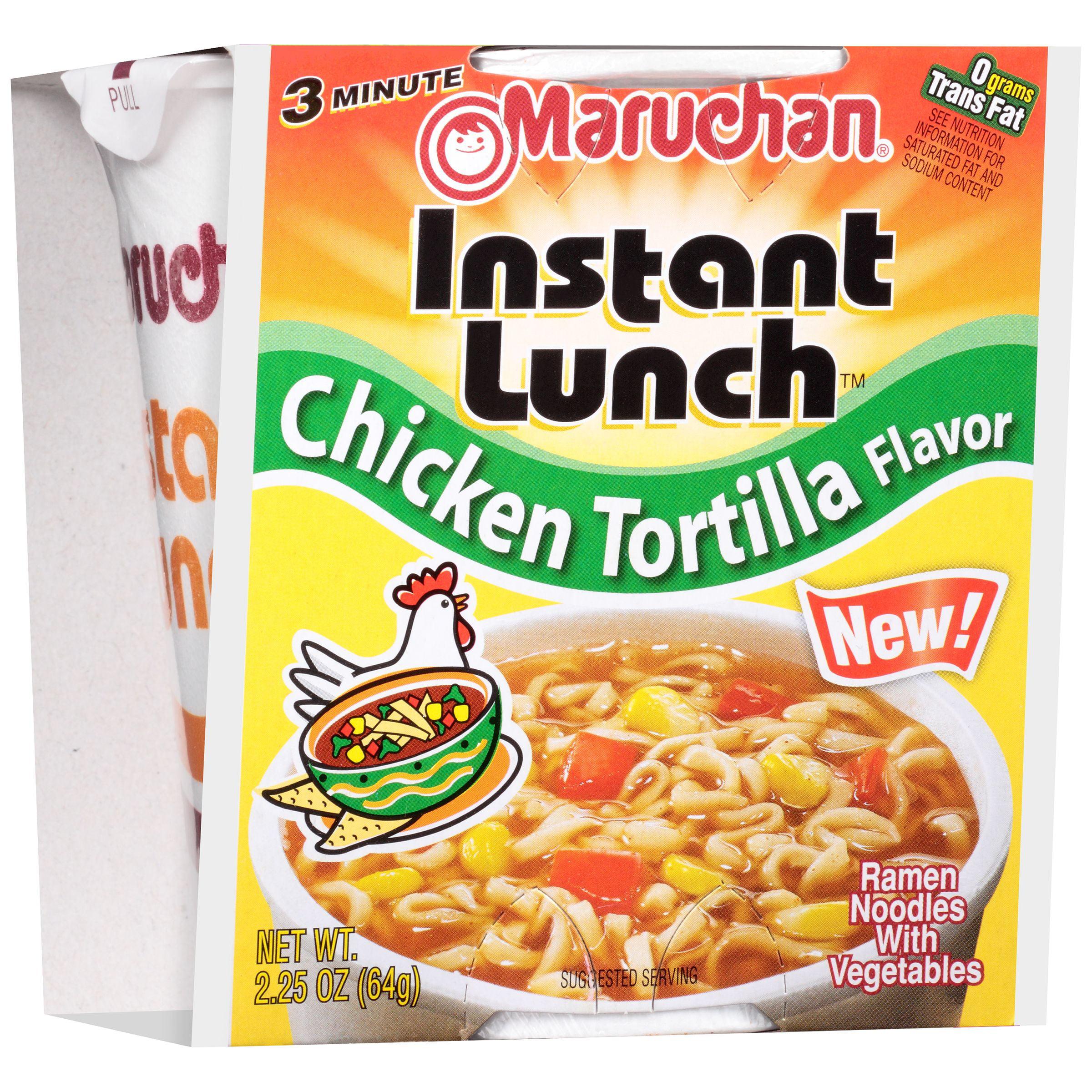 Maruchan Instant Lunch Chicken Tortilla Flavor Ramen Noodles, 2.25 oz. 90149