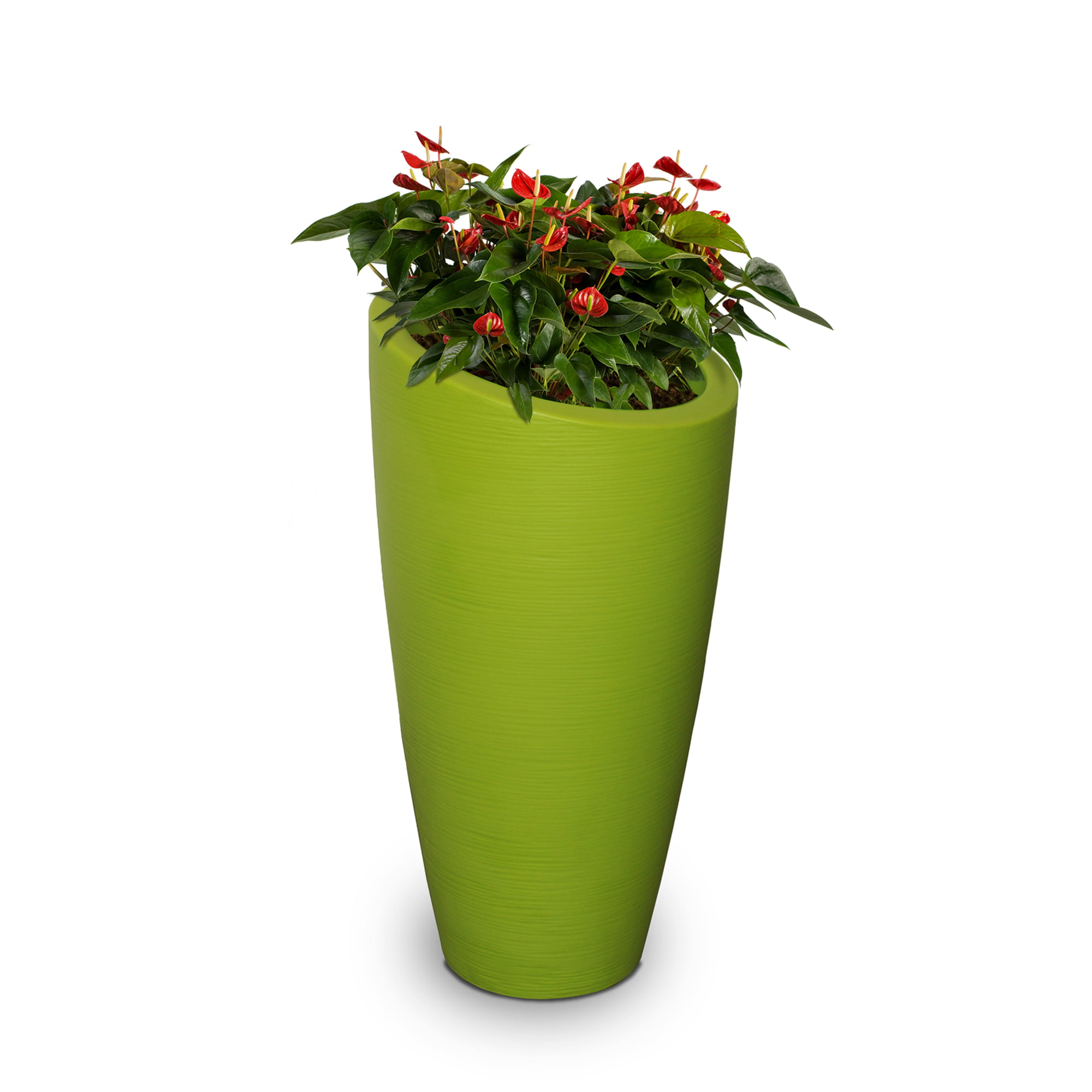 Modesto 42in Tall Planter Macaw Green by Mayne Inc.