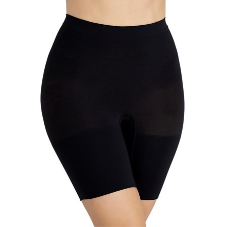 Spanx NEW Black Women's Size S Waist Cinchers Microfiber Shapewear Shorts $36