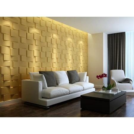 EKBInnovations 3D Wall Panel Blocks (Set of 10) ()