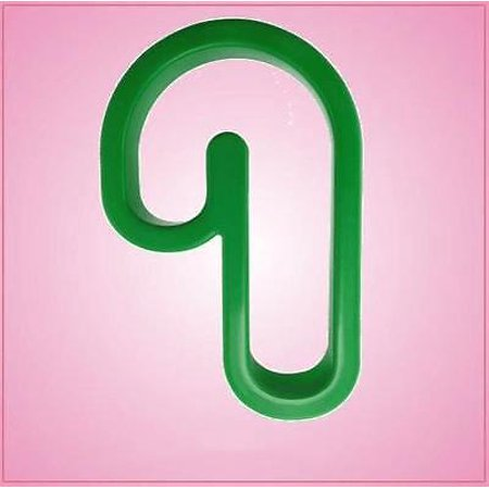 Green Candy Cane Cookie Cutter