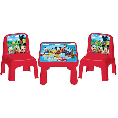 Disney Mickey & Friends Cafe Table and Chairs Set