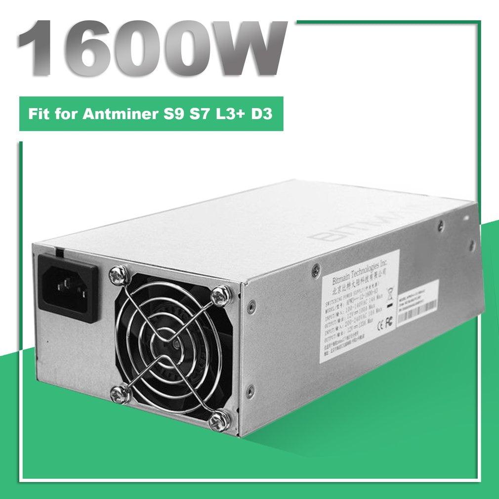 1600W Bitmain APW3++ PSU Power Supply for Antminer Bitcoi...